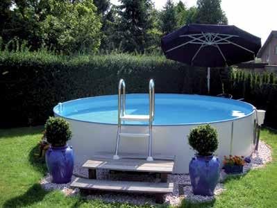 Rundbecken Milano Pool-Sets